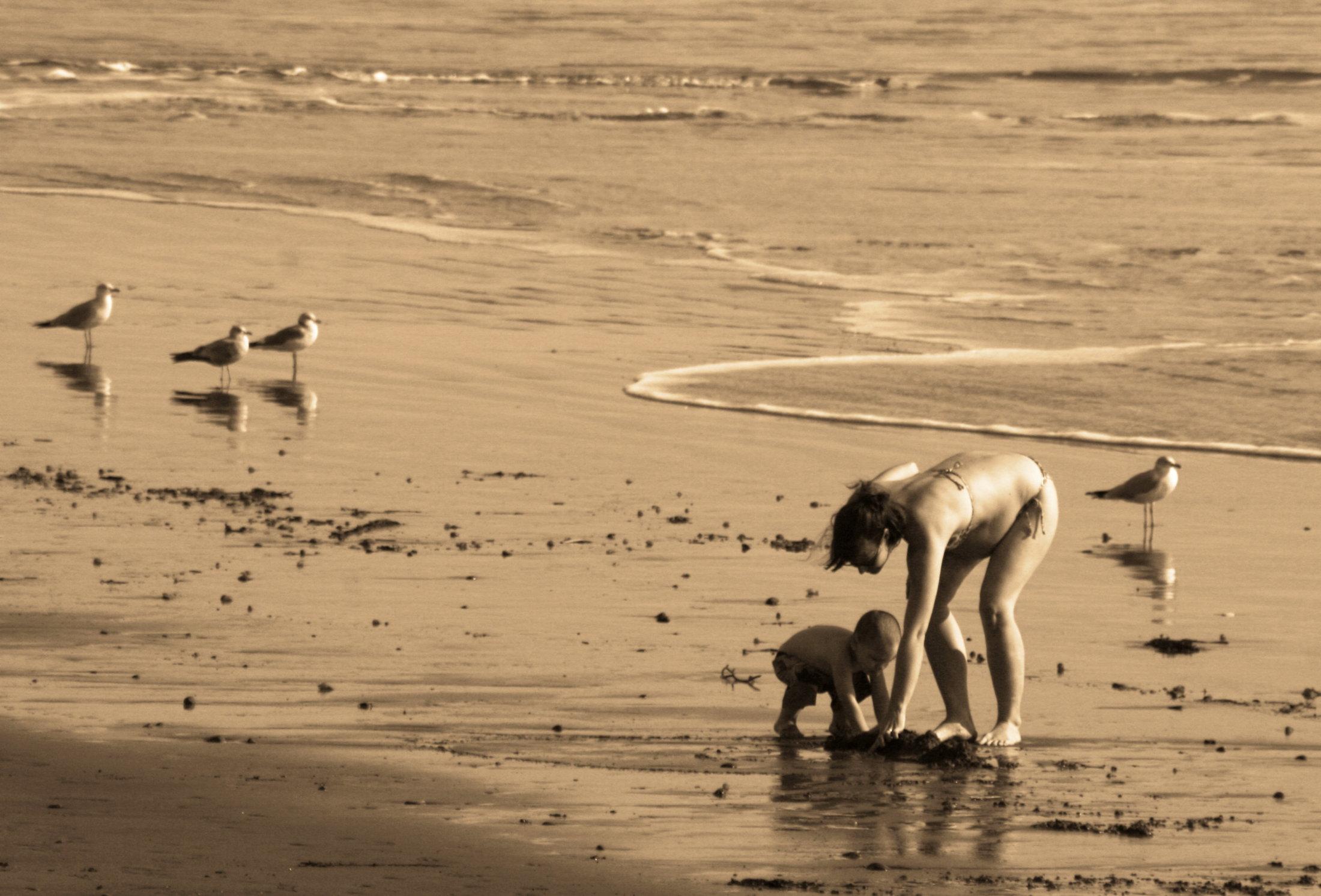 Beach-6bw