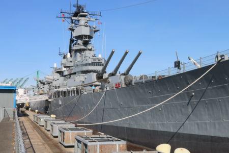 Battleship Iowa San Pedro CA