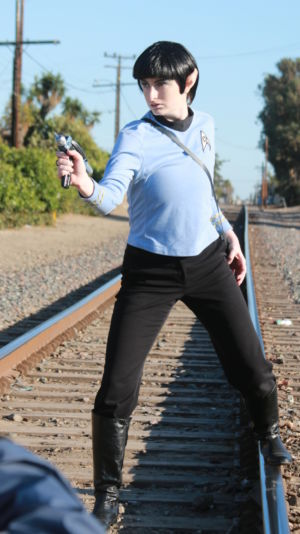 Spock Cosplay shoot Torrance Park California