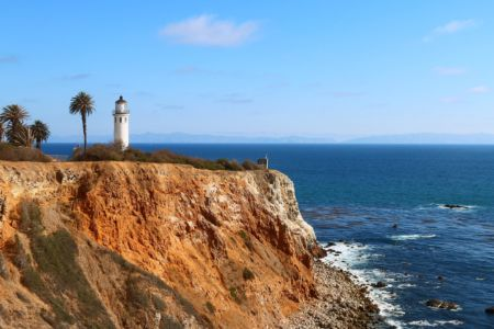 point vicente lighthouse Palos Verdes CA