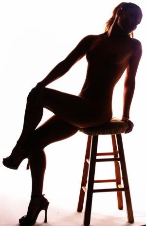 Silhouette nude