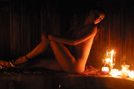 Candlelight Nude