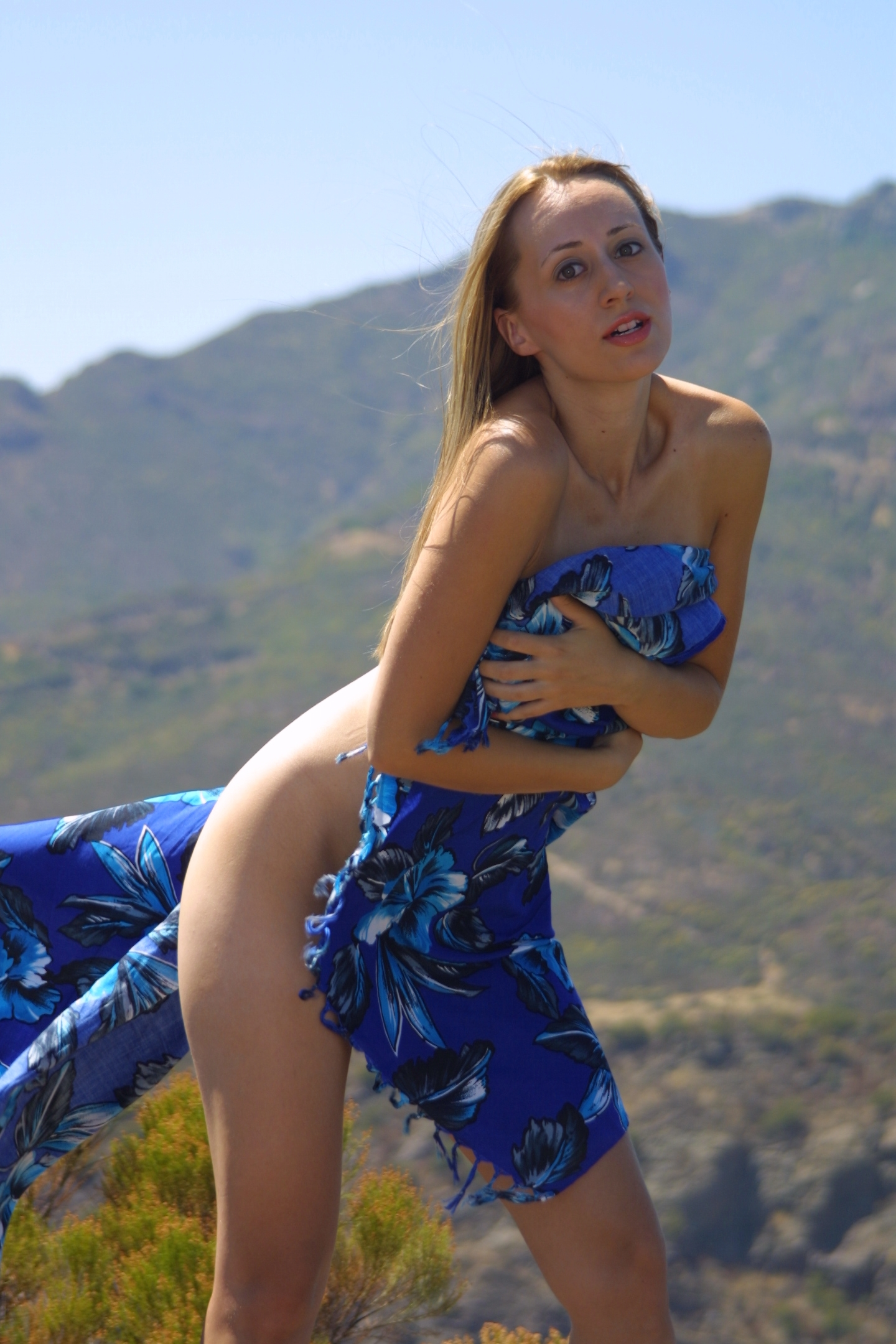 Implied Nude Malibu Hills California