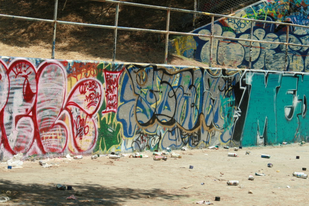 Graffiti Harbor Park California